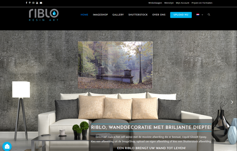 Riblo.nl - Wanddecoratie met diepte